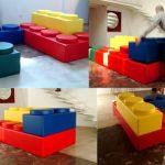 Sofá de Lego