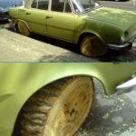 El auto de Pedro Picapiedra ¡Yabadabadoo!