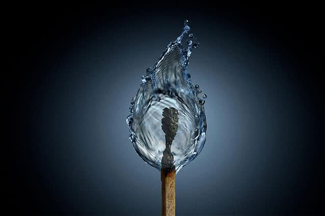 El fuego en agua (3)