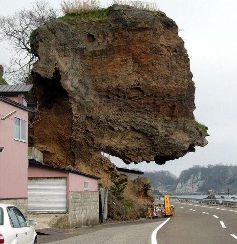 roca peligrosa