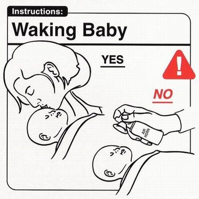 despertar al bebe
