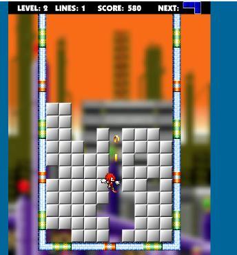 Sonic Blox – Tetris