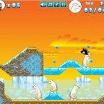 Juego Flash: Crazy Penguin Catapult
