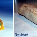 Publicidad vs Realidad.