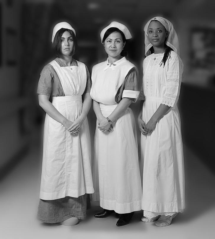 enfermera la planchada leyenda