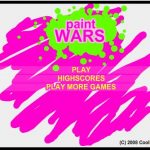 Juego Flash: Paint Wars.