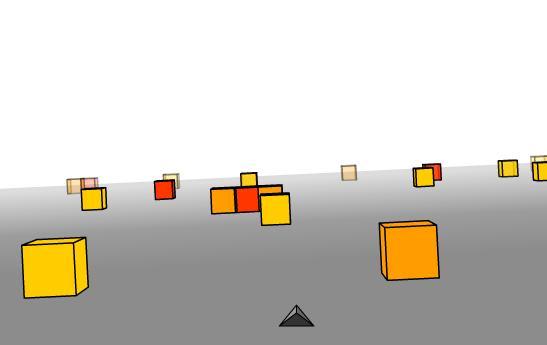 cubefield juego flash