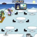 Juego Flash: Penguin Dinner.