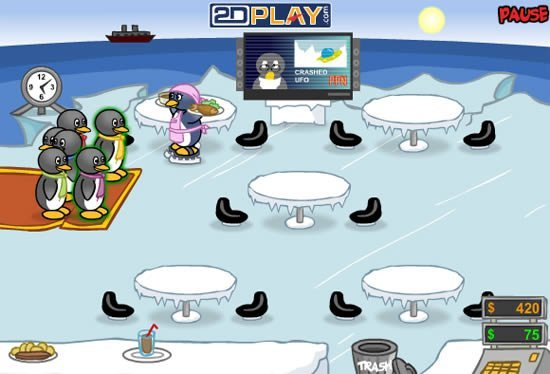 Juegos De Cocina De Pinguinos | Juegos De Cocina De Pinguino 28 Images Juego Salva Al Ping 252