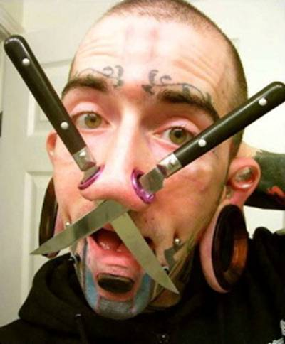 los piercings y los tatuajes. Asunto: Re: Cuestión de piercings. No era nada del otro mundo (bueno si