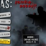 Juego Flash: Zombie assault.