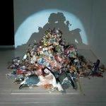 Sombras creadas con basura