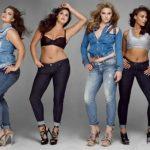 "Modelos ""llenitas"" en V Magazine"