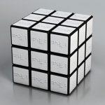 Cubo de Rubik en Braille