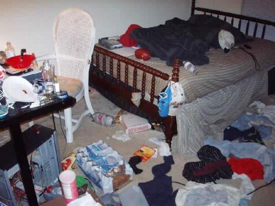 Las habitaciones m s sucias marcianos - Como limpiar una casa muy sucia ...