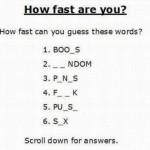 Adivina las letras.