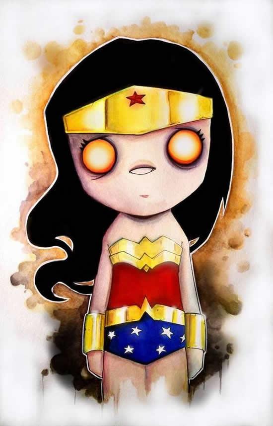 dibujos de superhéroes Extraños (1)