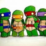 Extraños dibujos de superhéroes