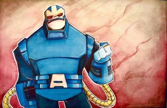 dibujos de superhéroes Extraños (9)