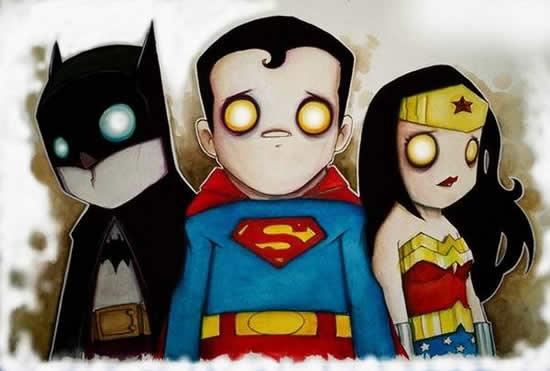 dibujos de superhéroes Extraños (8)