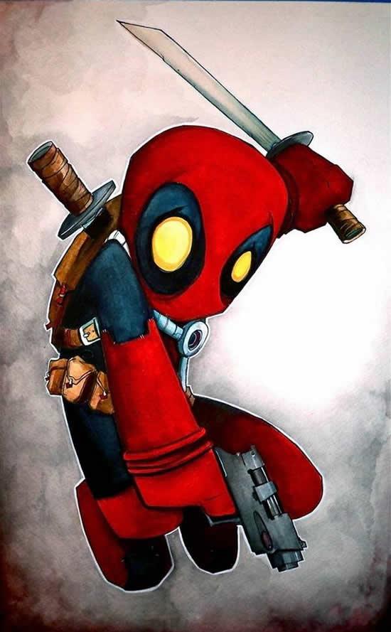 dibujos de superhéroes Extraños (4)