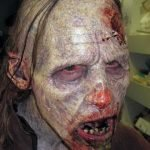 Maquillaje zombi realista