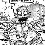 """La """"cabañita"""" del presidente."""