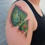 Cyber tattoos
