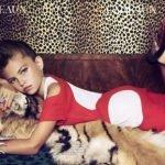 Niños disfrazados en Vogue