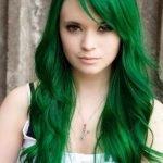 Chicas con el pelo teñido de colores