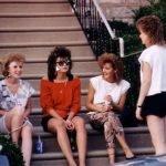 Chicas fashion de los 80s