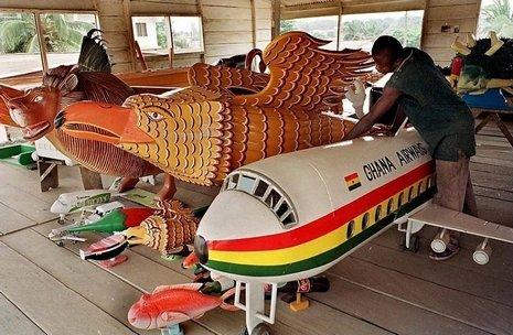 Ataúdes extravagantes en Ghana (7)