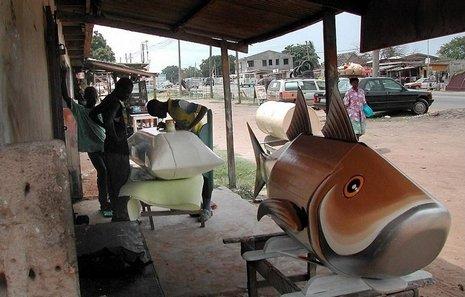 Ataúdes extravagantes en Ghana (5)