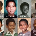 Los raperos cuando eran niños