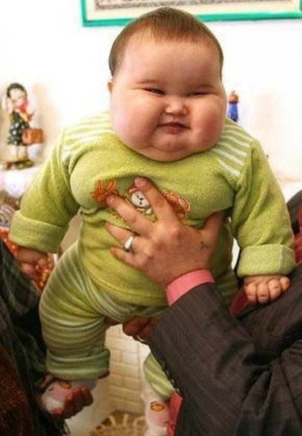 El curioso casao de un bebé de 20 Kg - Marcianos