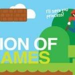 Evolución de los juegos de video [Infografía]