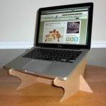 Cómo hacer una base para laptop