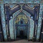 Relicarios, mezquitas, templos e iglesias esculpidas con armas