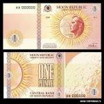 Lunares, dinero del banco de la luna