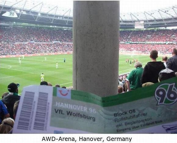 Peor lugar en el estadio (6)