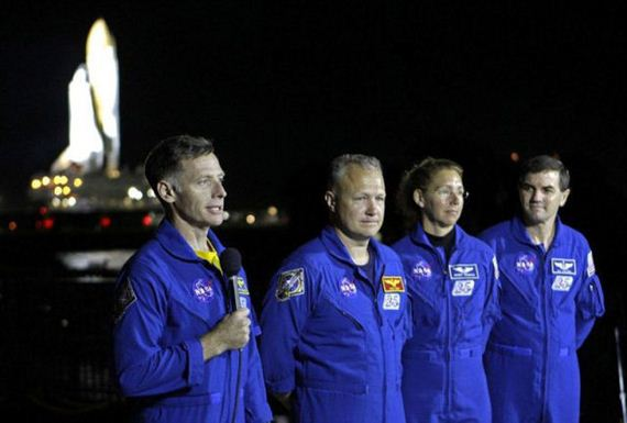 Misión espacial Endeavour (1)