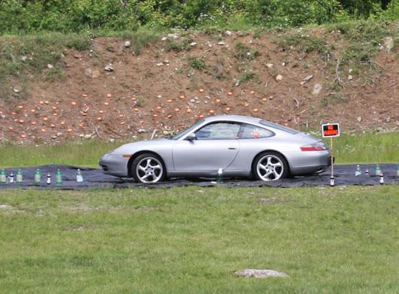 Disparando a un Porsche (4)