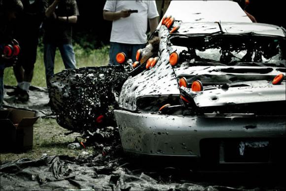 Disparando a un Porsche (11)