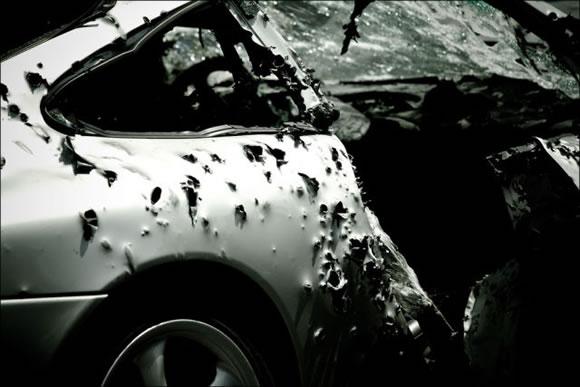 Disparando a un Porsche (10)