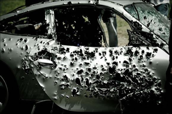 Disparando a un Porsche (13)