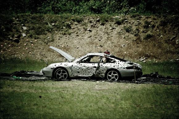 Disparando a un Porsche (15)