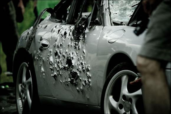 Disparando a un Porsche (14)