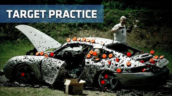 Disparando a un Porsche (16)