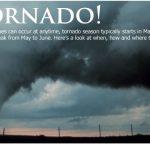 Infografía de los tornados