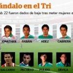 8 Expulsados de la Selección Nacional de Fútbol Sub 22